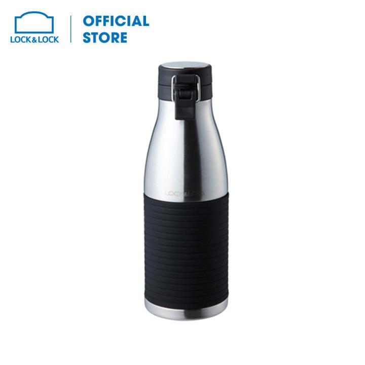 Bình giữ nhiệt bằng thép không gỉ Lock&Lock Cylinder Bottle LHC4145SLV (430ml - bạc)