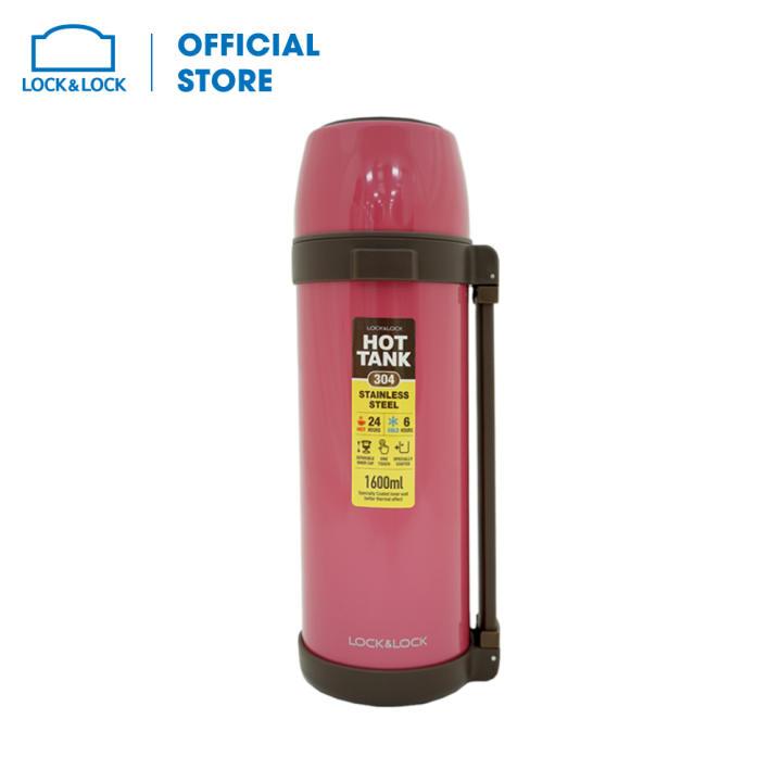 Bình giữ nhiệt City Vacuum Lock&Lock Olympic Beijing LHC1446PIK (1.6L - màu hồng)