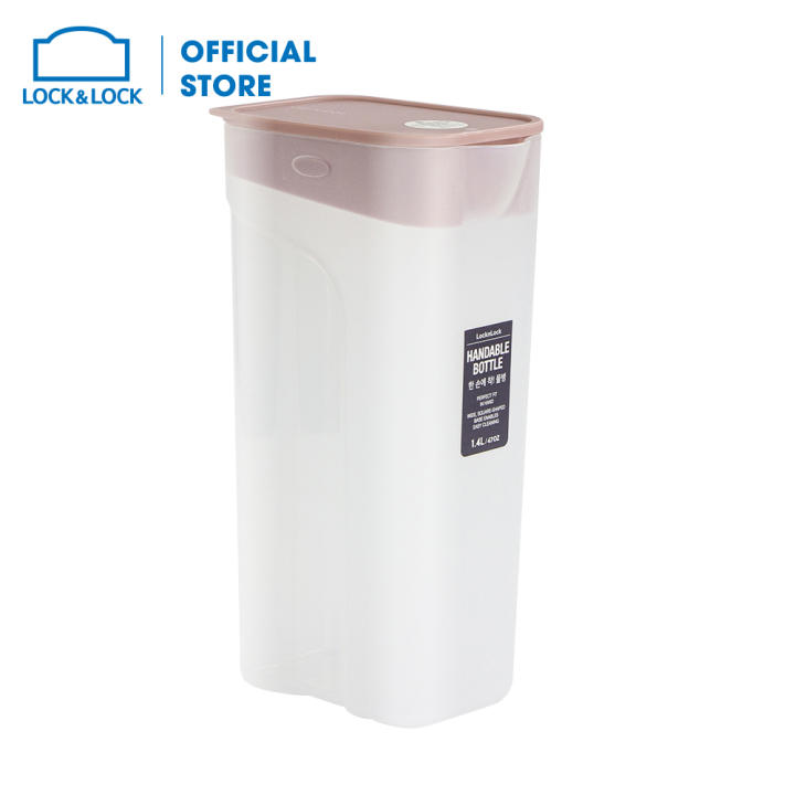 Bình nước Handle Bottle Lock&Lock HAP817PIK (1.4L - hồng)