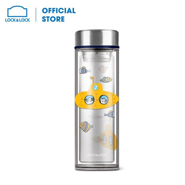 Bình nước thủy tinh chịu nhiệt Lock&Lock LLG627 (320ml)